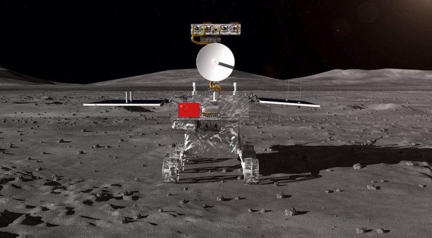 Čína vysadila jako první na světě svůj lunochod na odvrácené straně Měsíce