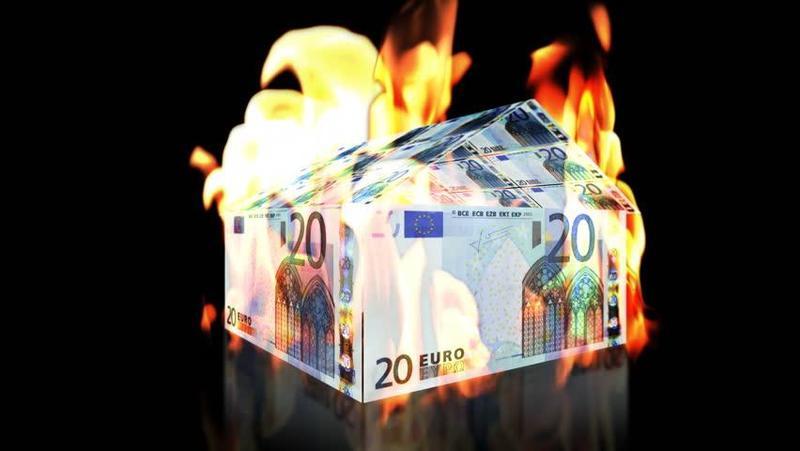 Útlum ekonomiky eurozóny je daleko horší než globální zvolnění