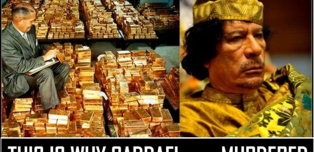 Nově vyzrazené e-maily ukazují, že motivem kintervenci NATO byl libyjský plán na vytvoření zlatem podložené měny, která by konkurovala euru...
