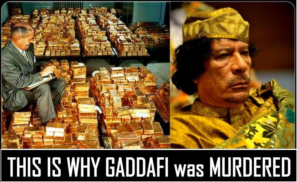E-maily od Hillary potvrzují, že US a NATO Libyi zničily kvůli zlatem podložené měně