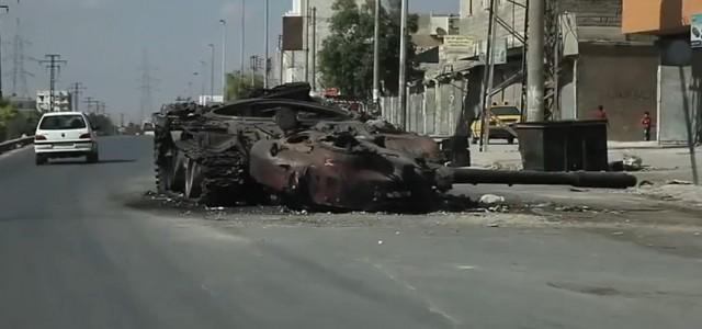 (en.wikipedia.org) Aleppose stalo synonymem destrukce a syrského státem vytvářeného násilí pro ty, jejichž vnímání situace ve válkou zmítané zemi je...