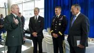(odstupující Trumpův poradce pro národní bezpečnost Michael T. Flynn, druhý zprava; foto -commons.wikimedia.org)  Varování vyřčené presidentem Eisenhowerem ohledně nebezpečí...