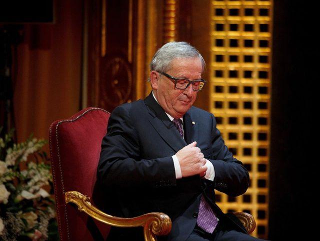 EU financované organizace udělily cenu Vrcholného evropského vůdcovství …. předsedovi Evropské komise