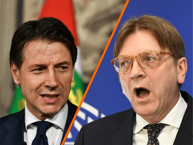 Rozparáděný Verhofstadt nazval italského premiéra 'loutkou' populistů