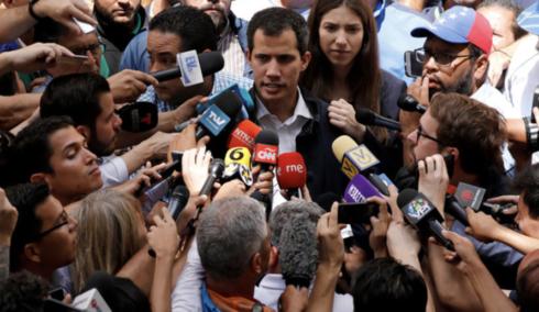ITÁLIE HATÍ PLÁNY EU UZNAT GUAIDA ZA LEGITIMNÍHO VŮDCE VENEZUELY
