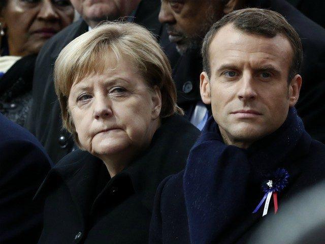 Merkel s Macronem si spolu hrají na 'suverénní Evropu' a sdružují obranu a zahraniční politiku