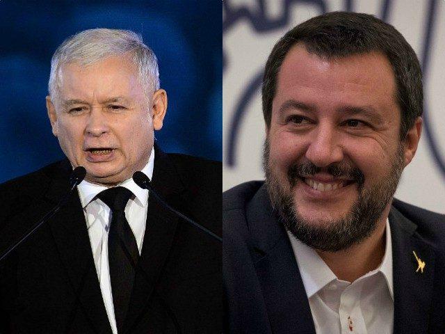 Salvini z Itálie se sejde s polským konzervativním vůdcem k diskusi o možné alianci